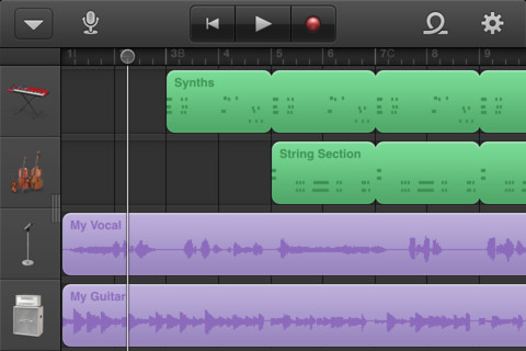 GarageBand Now On iPhone and iPod touch
