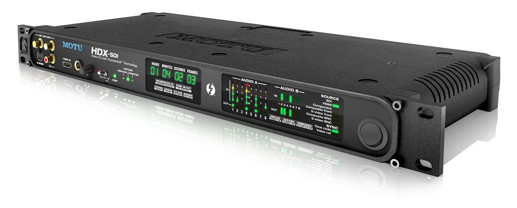 MOTU Debuts First Thunderbolt Interface