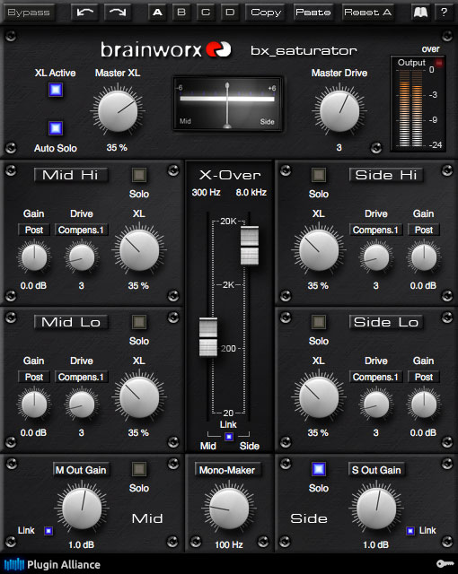 Plugin Alliance bx_saturator Does Mid-Side Dynamics