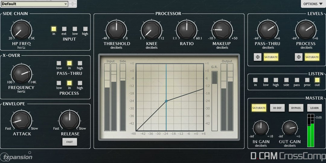 FXpansion Intros DCAM Dynamics with FreeComp On the House