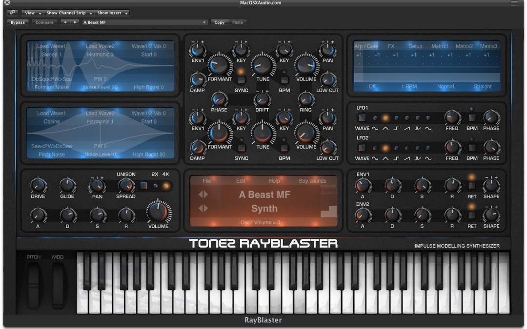Tone2 Brings RayBlaster To A Synthesis Fight