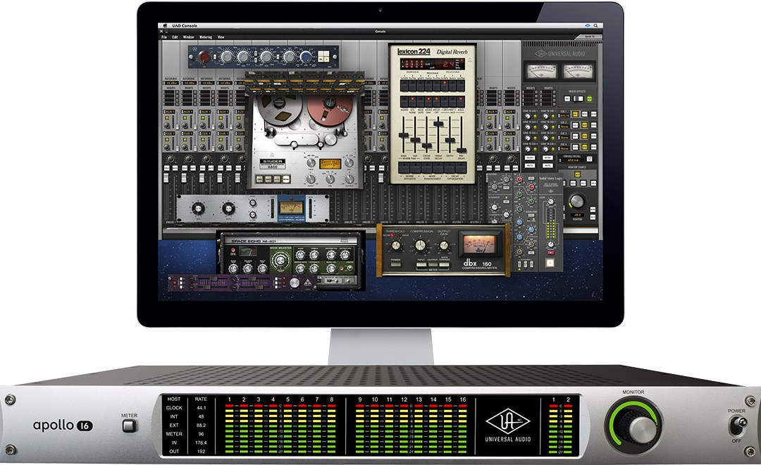 Universal Audio Apollo 16 Leads the UAD Pack