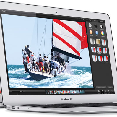 Apple Brings All Day Battery Life to MacBook Air
