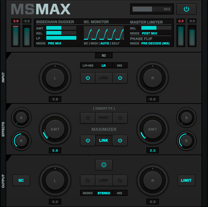 Mid/Side Maximize With Twisted Tools MSMAX