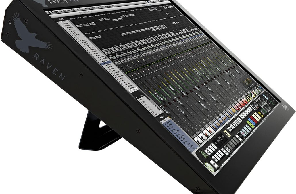 Get Hands-On with Slate Pro Audio Raven MTi Controller