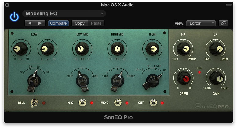 Sonimus SonEQ Pro Emulates High-End Analog Classics
