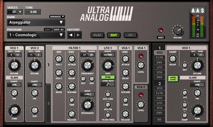 Applied Acoustics Systems Revs Ultra Analog VA-2