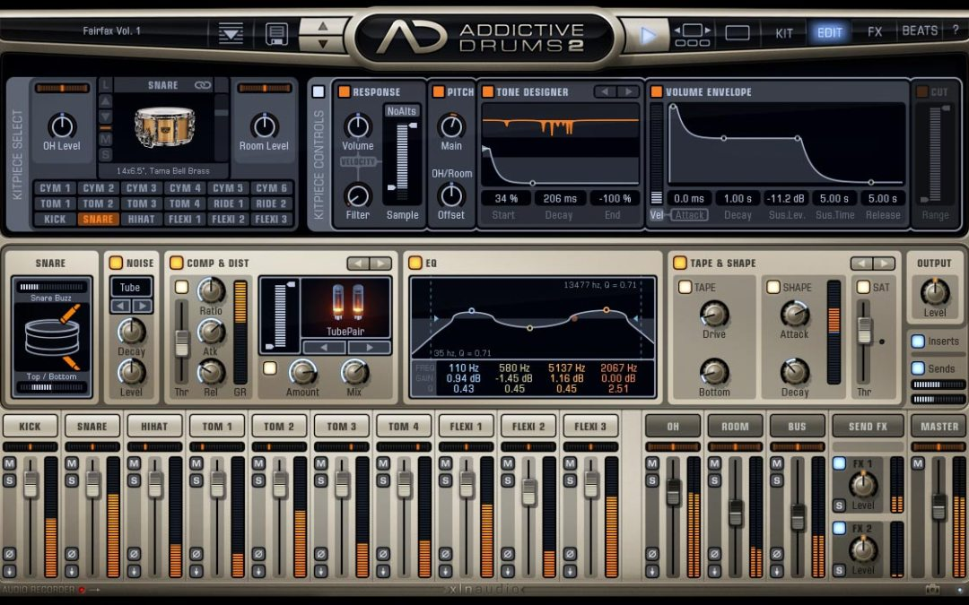 XLN Audio Addictive Drums 2 Expands Percussion Arsenal