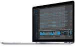 MOTU 1248 Web App on MacBook Pro
