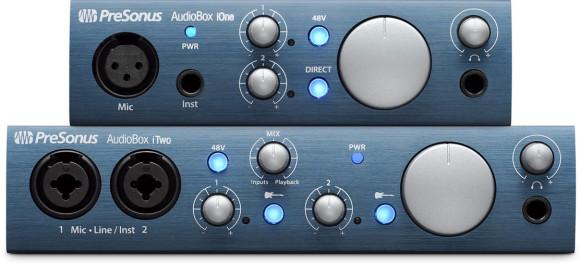 PreSonus AudioBox iOne and iTwo