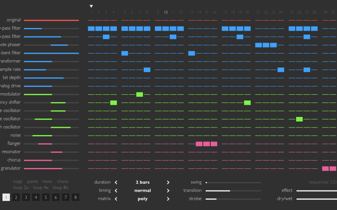 Sinevibes Revs Sequential 3.0 Multi-Effect Sequencer