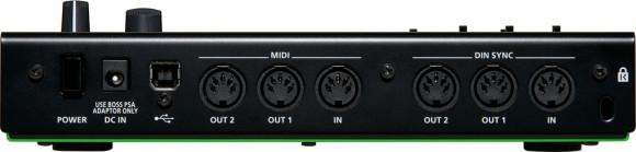 Roland SBX-1 rear ports