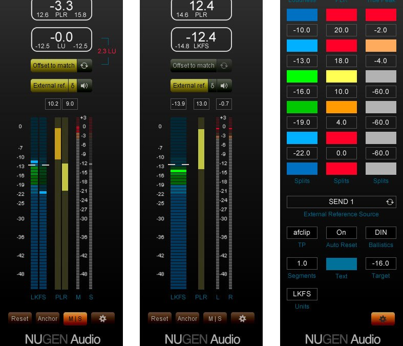 NUGEN Audio MasterCheck Simulates Streaming Effects