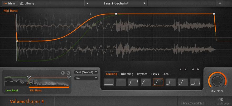 Cableguys VolumeShaper 4 Goes Multi-Band