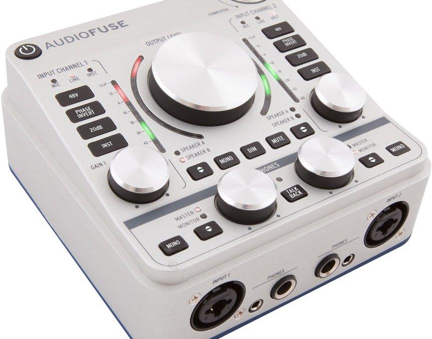 Arturia Unveils AudioFuse Advanced Audio Interface