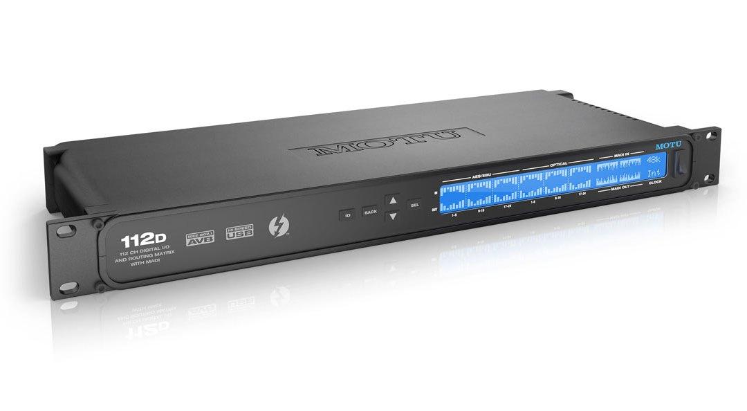 MOTU 112D Digital Interface Routes, Mixes & Converts
