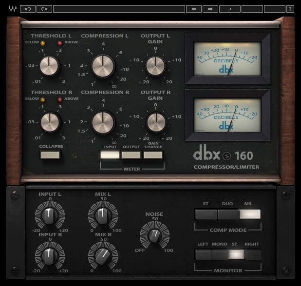 Waves Teases New dbx 160 Compressor / Limiter Plug-In