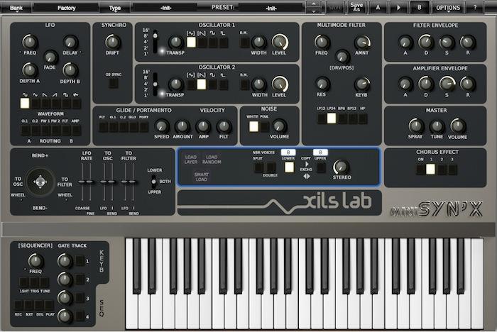 Xils-Lab MiniSyn'X Emulates 1980s Italian Analog Monster