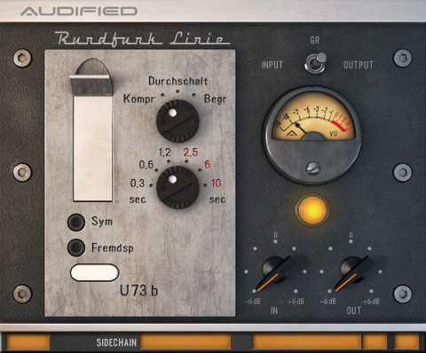 Audified U73b Compressor Evokes Telefunken Original