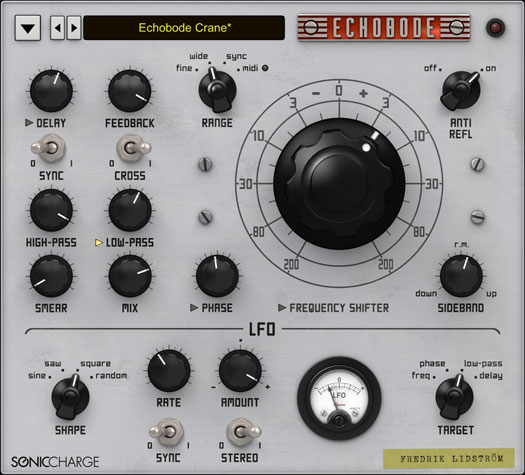 Sonic Charge Echobode Now Available as AU and VST