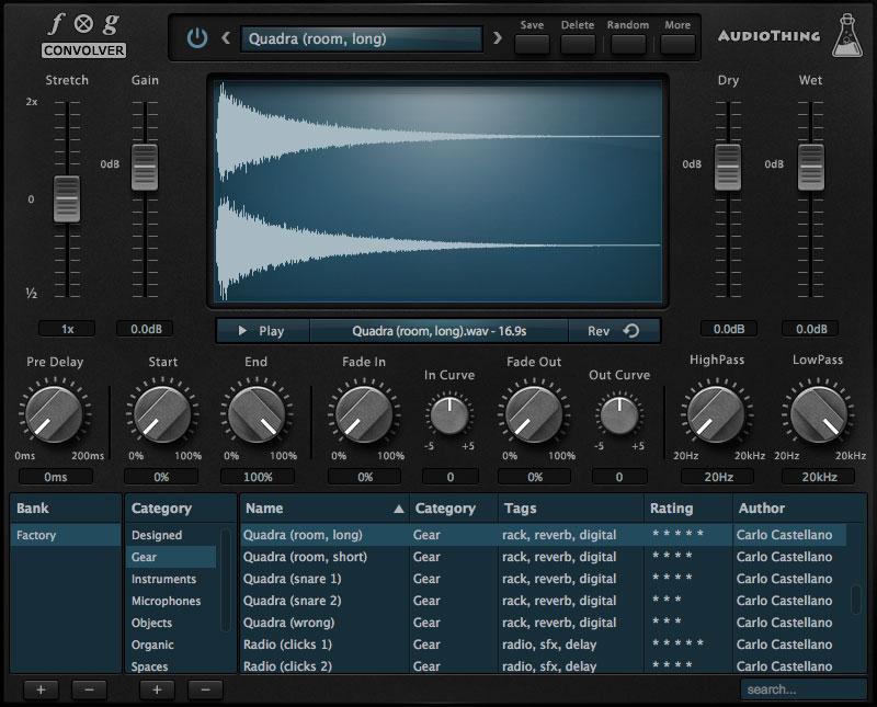 AudioThing Fog Convolver Dives into Sound Design