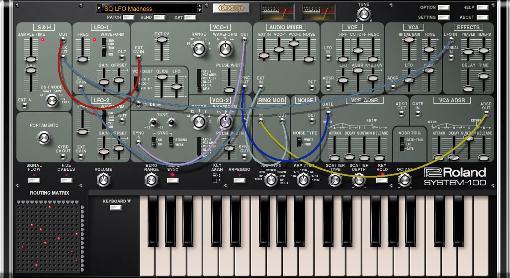 Roland reveals System-100 Plug-Out Software Synthesizer