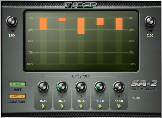 McDSP releases Mike Minkler inspired SA-2 Dialog Processor
