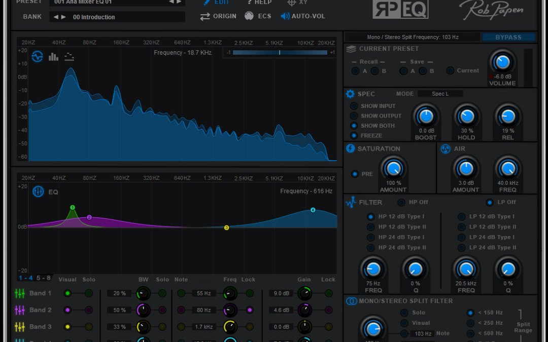 Rob Papen tears screaming RP-EQ from RAW synth