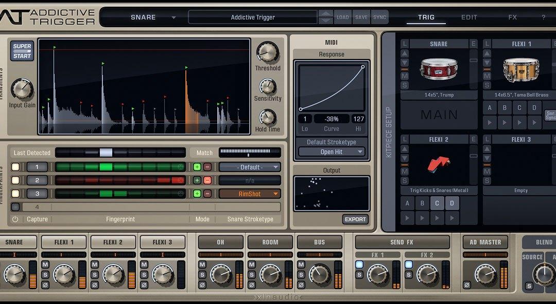 XLN Audio debuts Addictive Trigger & DS-10 Drum Shaper