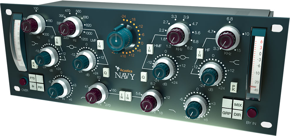 Acustica Audio classic EQ plug-in Navy sets sail