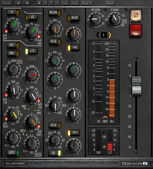 Brainworx bx_console plug-in emulates storied Neve VXS