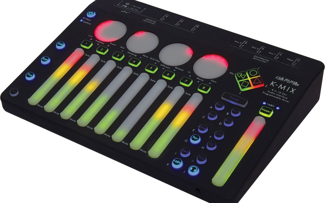 Keith McMillen Instruments showing off K-MIX interface