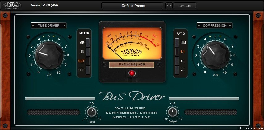 Nomad Factory says thank you with free Bus Driver plugin