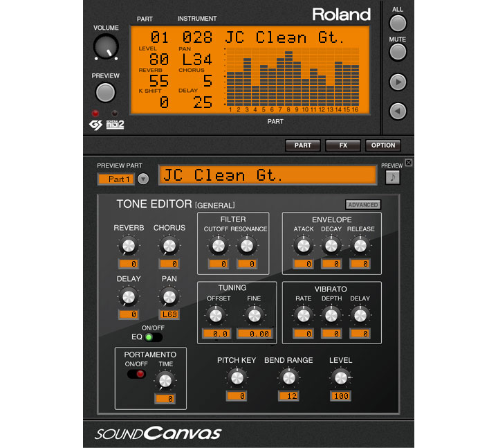 Sound Canvas VA revives Roland bread & butter synths