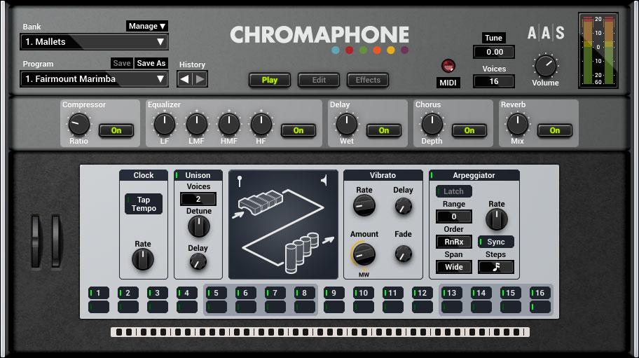 Applied Acoustics Systems announces Chromaphone 2