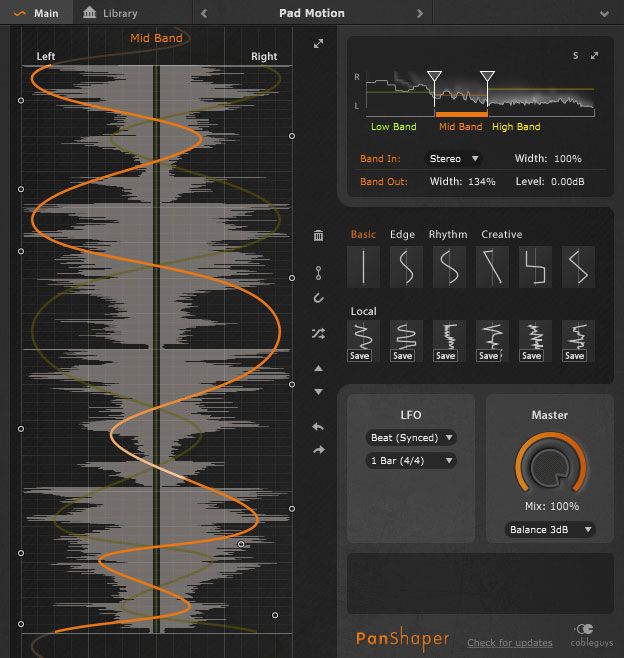 Cableguys premieres PanShaper for ultimate stereo control