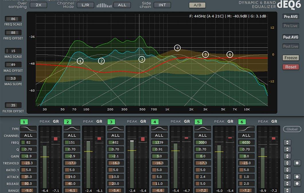 TBProAudio releases dEQ6 dynamic EQ
