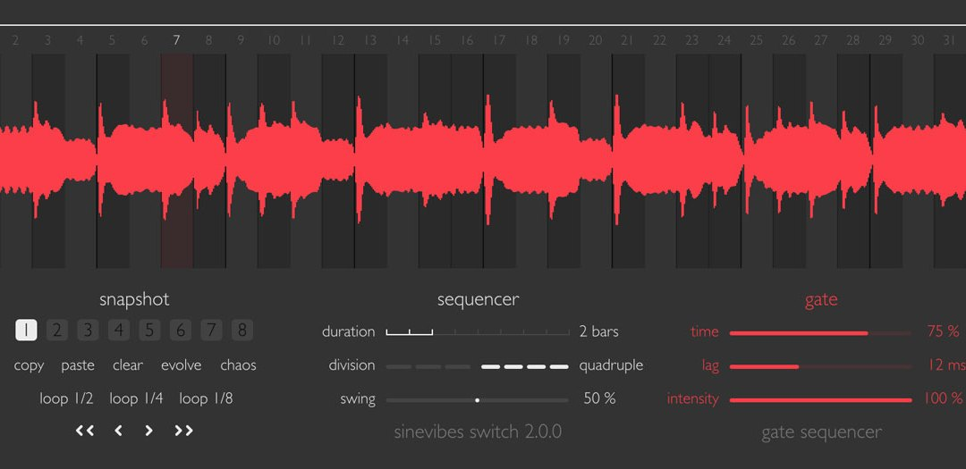 Sinevibes serves up Switch 2.0 gate sequencer