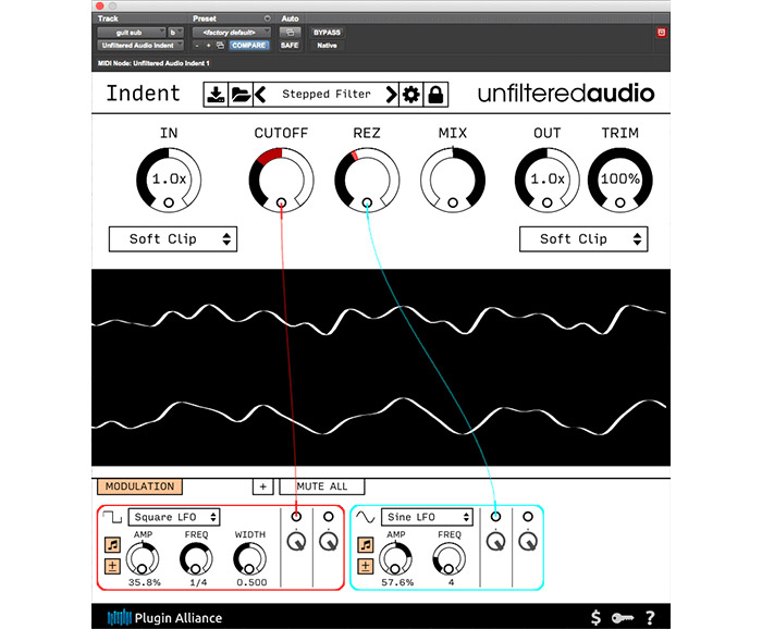Unfiltered Audio Indent modular distortion free for a limited time