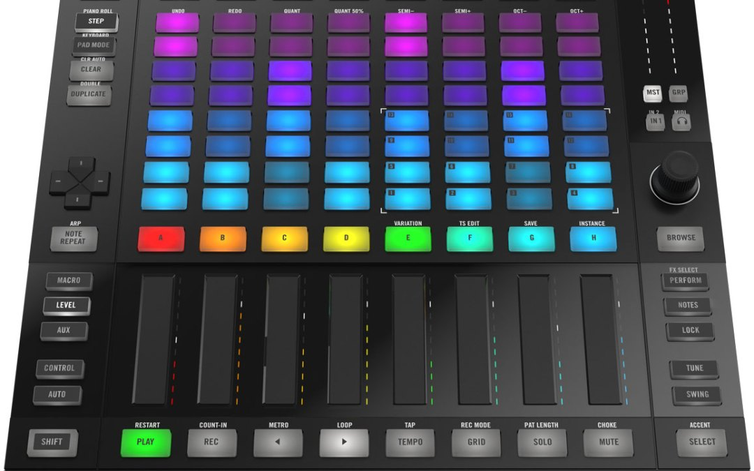 Native Instruments reveals new Maschine Jam controller