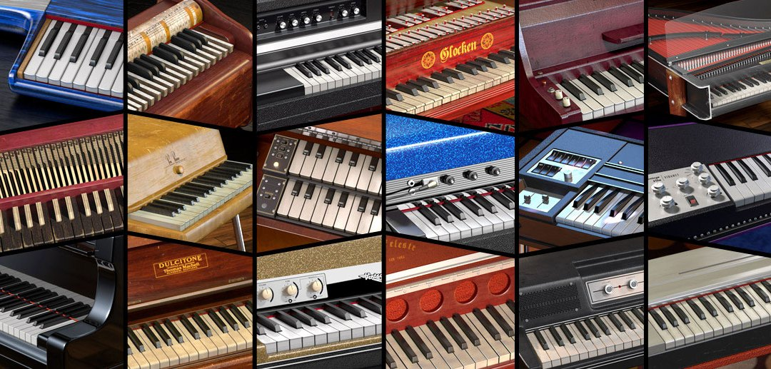 Spectrasonics introduces Keyscape collector keyboards plugin