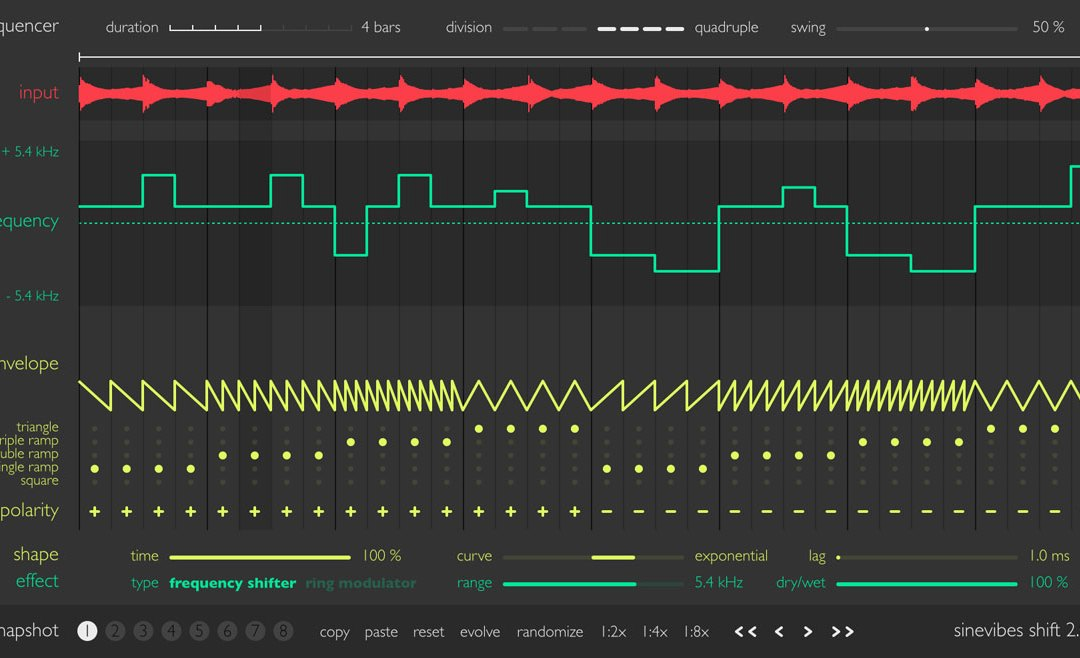 Sinevibes releases all-new Shift 2.0 animated shifter