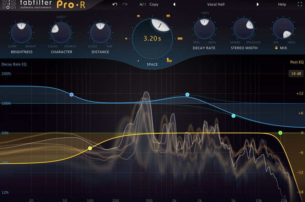 FabFilter releases FabFilter Pro-R reverb plugin