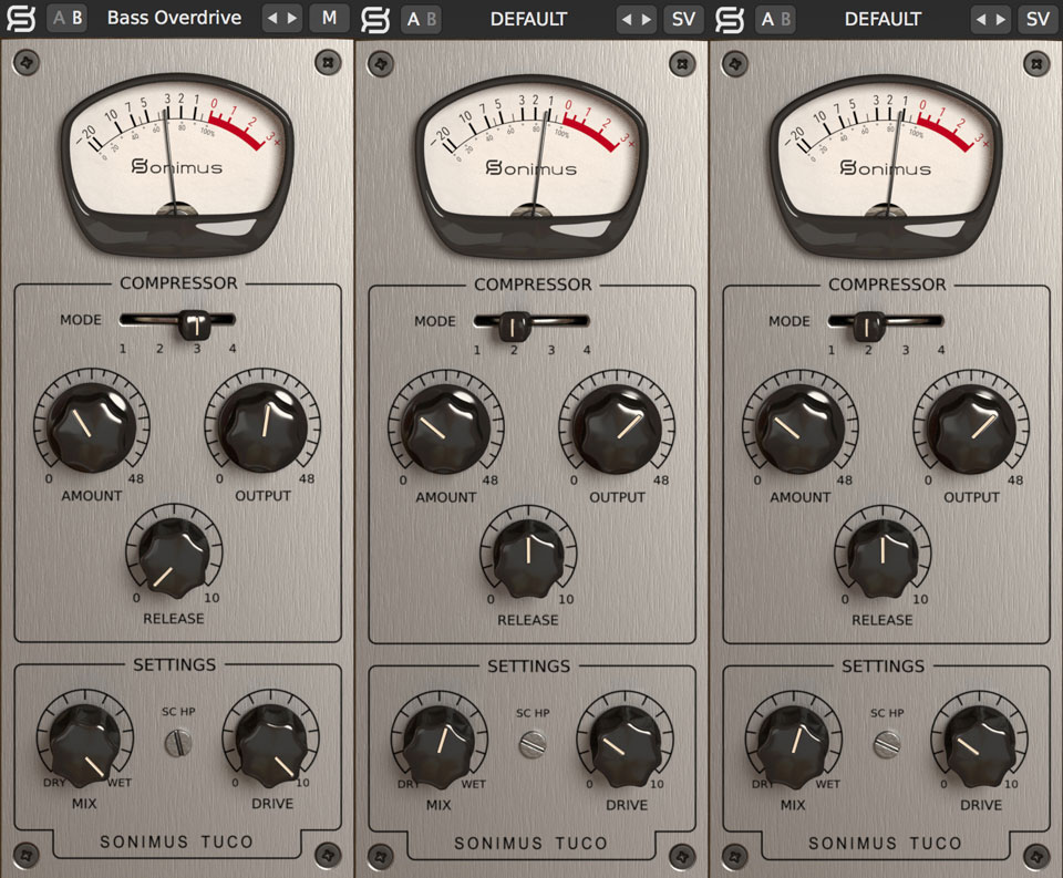 Sonimus TuCo vari-mu tube compressor is classically original