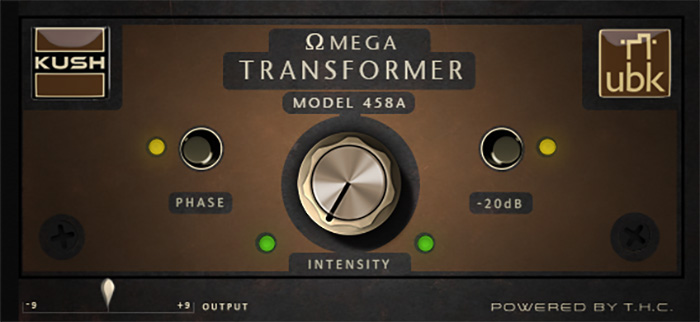 Kush bows Omega Transformer 458a true tube preamp emu
