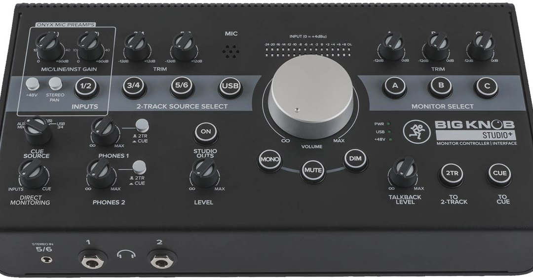 Mackie turns Big Knob into modern controller and interface series