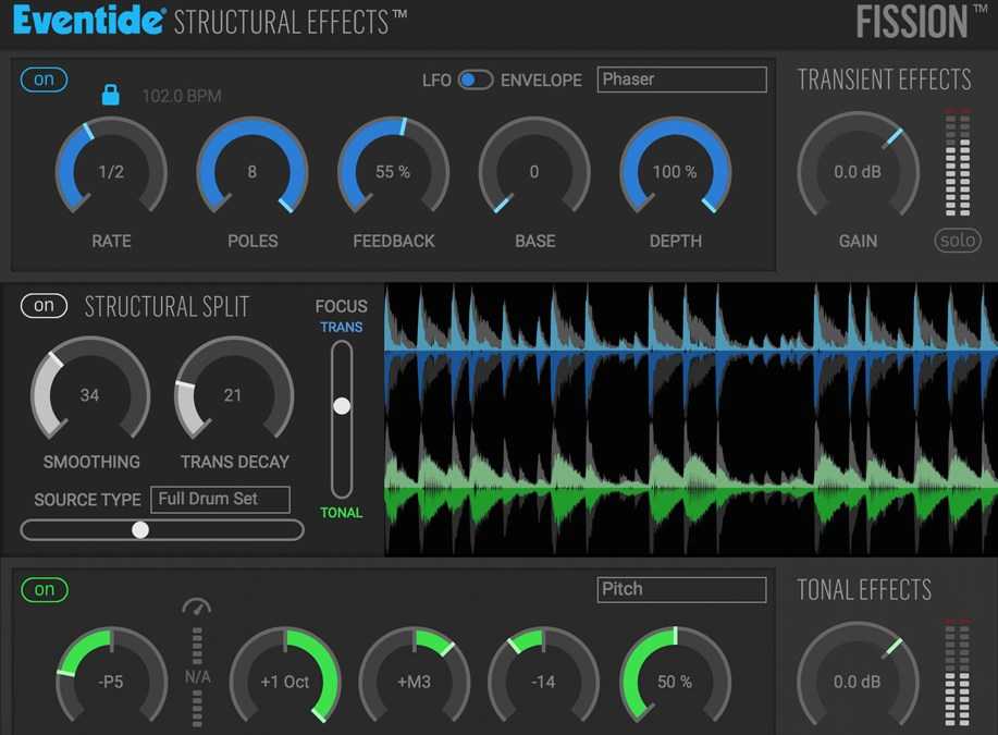 Eventide releases sound-splitting Fission featuring Structural Effects