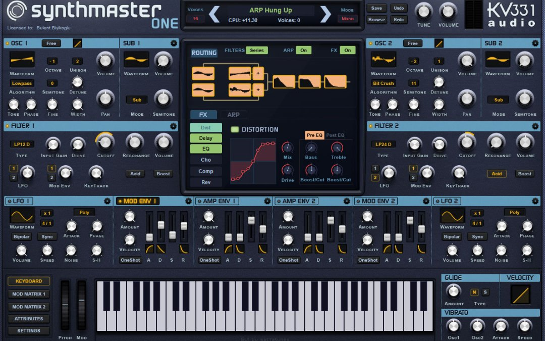 KV331 debuts streamlined SynthMaster One synthesizer plugin