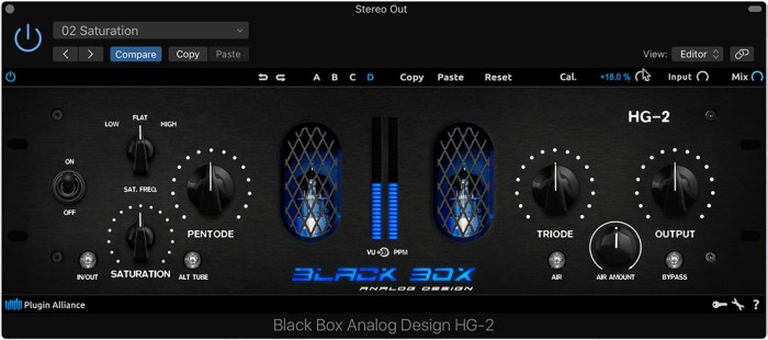Plugin Alliance Black Box Analog Design HG-2
