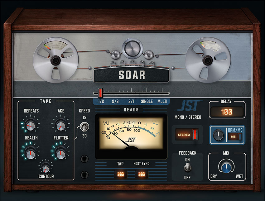 Joey Sturgis Tones intros Soar tape delay plugin
